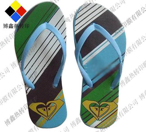 广州EVA拖鞋热转印